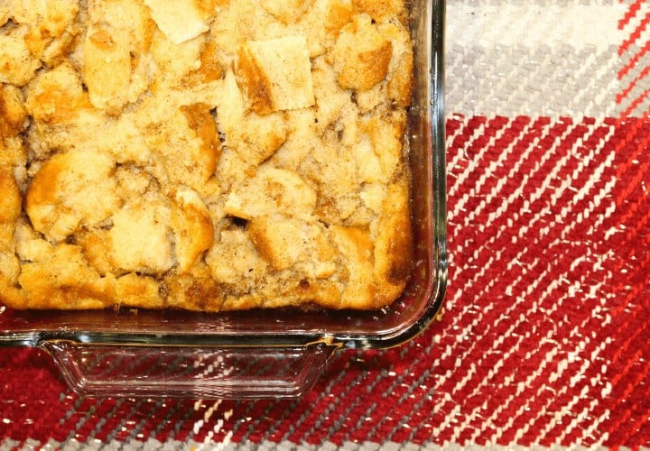 A great bread pudding recipe using goat milk