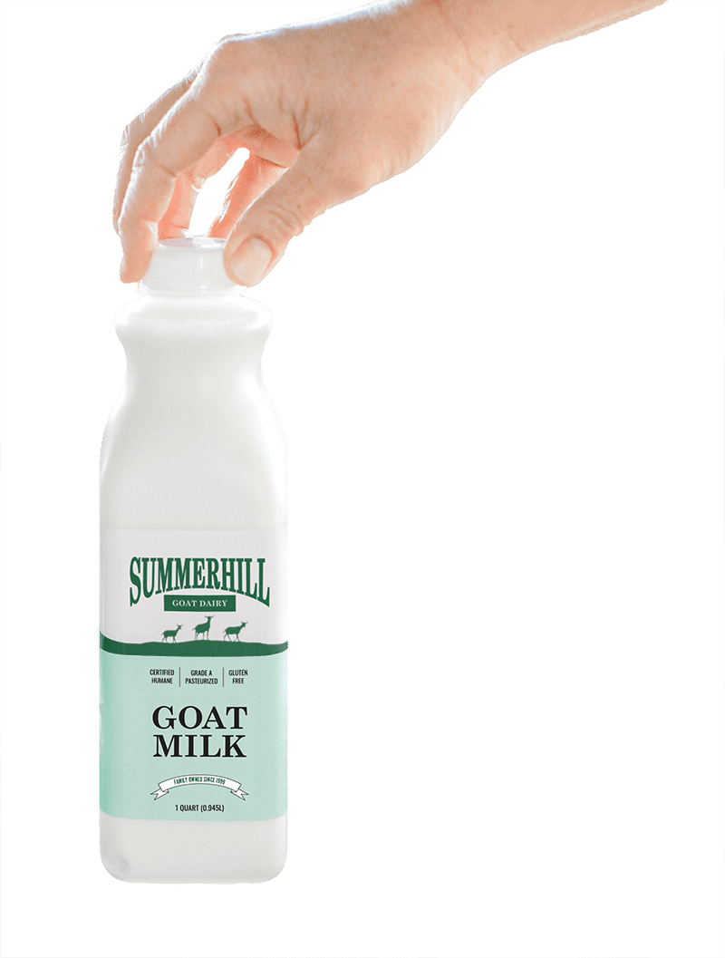 Summerhill Dairy Goat Milk Bottle