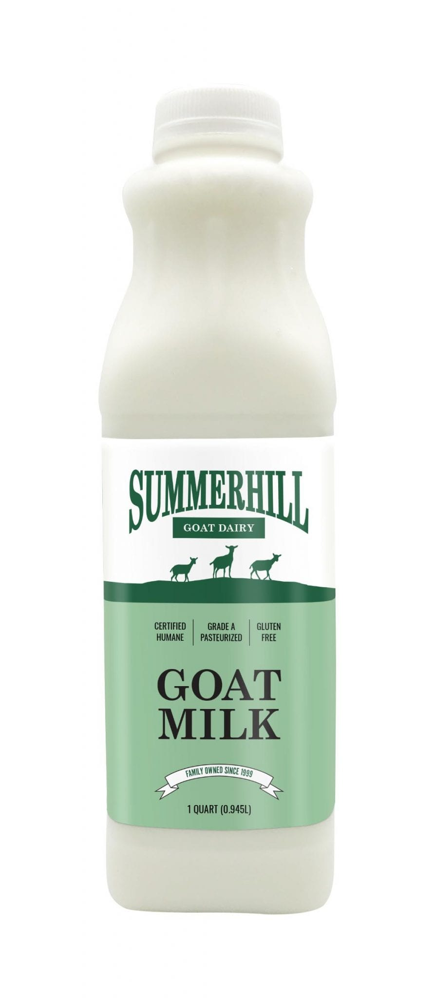 Goat milk bottle 32oz