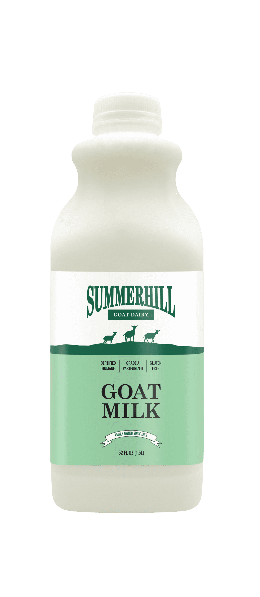 summerhill dairy goat milk bottle 52oz