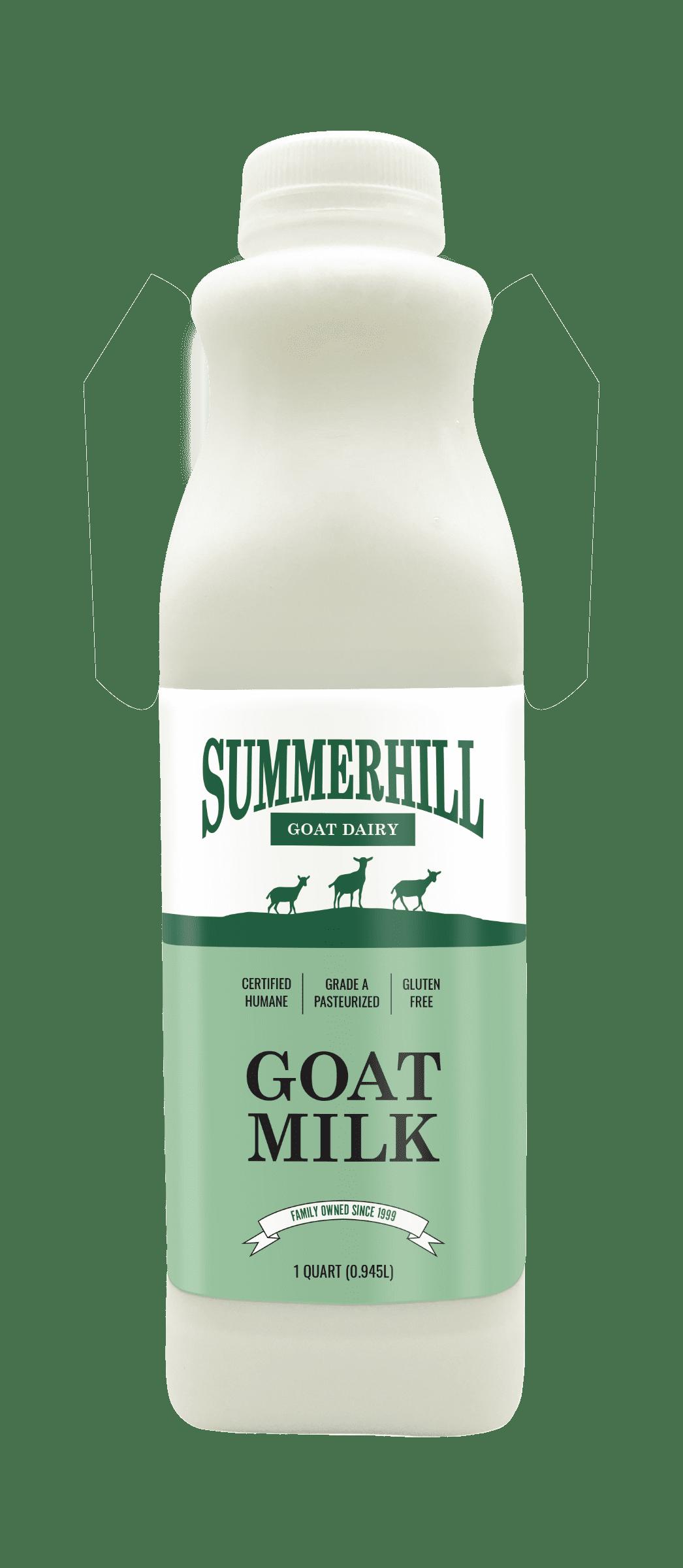 Summerhill dairy goat milk 32oz bottle